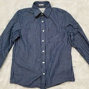 Abercrombie & Fitch Men's Long Sleeve Dress Shirt